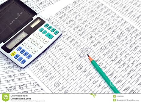 calculator numbers calculator with numbers stock photo image 43260089