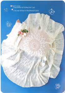 Baby Sock Flowers - patons baby shawls collection 1 knit amp crochet book 1003