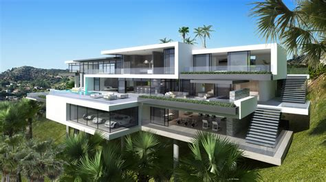 home vega plaza design two modern mansions on sunset plaza drive in la 4 homedsgn