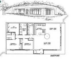 gallery for gt earth sheltered home plans with basement earth sheltered berm home plan 57264ha 1st floor