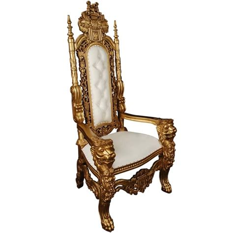 white throne chair gold antique french throne chair french style throne