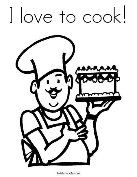 Mash Outline by Cooking Coloring Page Coloring Home