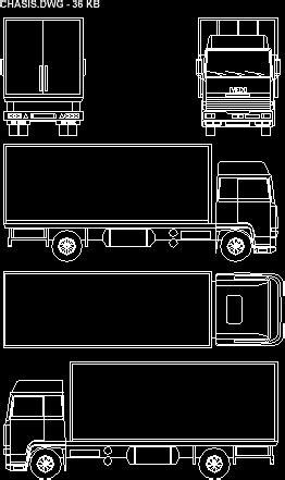 truck  dwg block  autocad designs cad