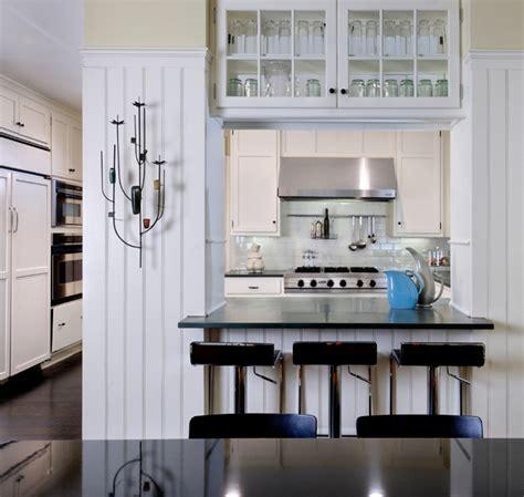 Pass Through   Cottage   kitchen   Donald Lococo Architects