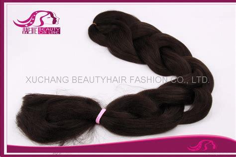 Beautyhair X pression braiding hair   84 inches long synthetic