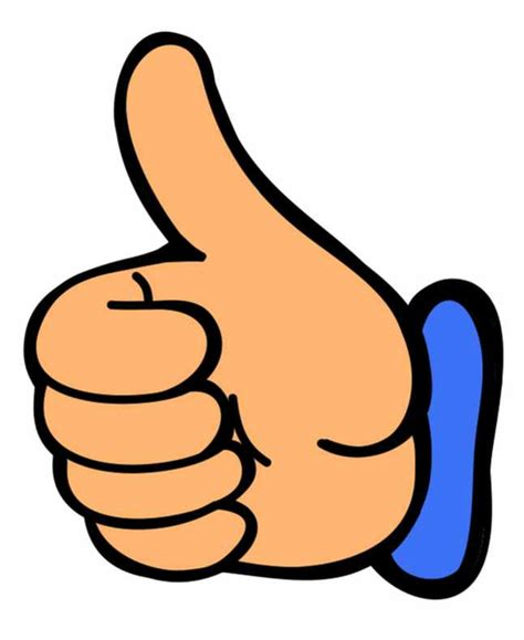 clipart thumbs up thumbs up thumb clip at vector free images at clker