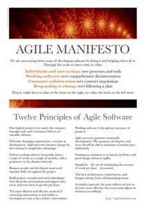 principles of the agile manifesto appfusions