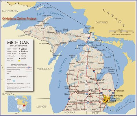printable road maps of michigan printable us state maps free printable maps