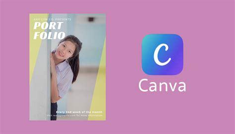 Canva Portfolio | ว ธ ทำปก portfolio แบบด วนๆ ด วยแอพ canva photo club