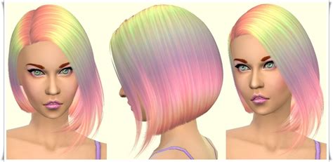 sims 3 hairstyle cheats sims 4 hairs annett s sims 4 welt parrot bob hairstyle