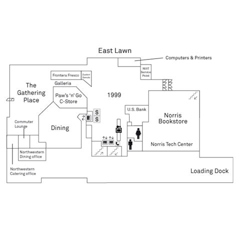 ground floor and floor plan floor plans northwestern student affairs