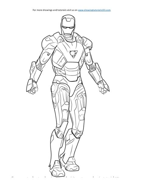 iron man heartbreaker coloring pages how to draw iron man sketch