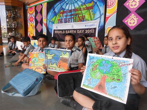 contest in india mief project earth day celebrations millennium india