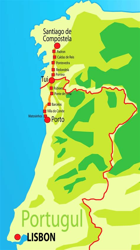 a survival guide to the portuguese camino in galicia information about the portuguese way in galicia books 100 camino de santiago map dusty boots and muddy