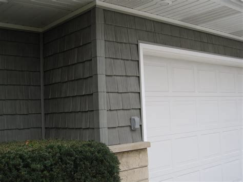 vinyl siding installation in grey cedar shake view 2 yelp