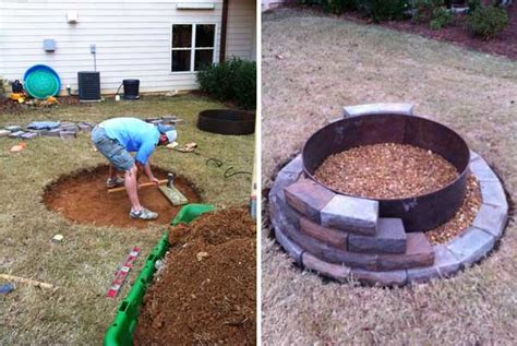 Build Backyard Fire Pit