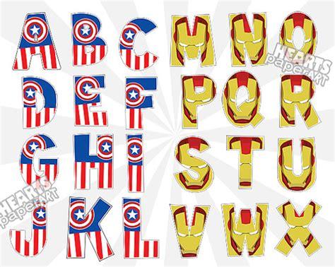 printable superhero font superhero letters printable www imgkid com the image