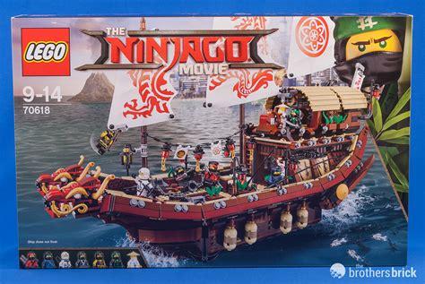 lego boat movie the lego ninjago movie s 70618 destiny s bounty review