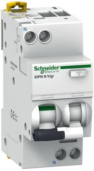 Schneider Rcbo Idpn N Vigi 1p N 32a 30ma Elcb 1p N 32a Schneider schneider electric a9d56616 fi ls schalter idpn n vigi typ a 6 ka schneider electric bei