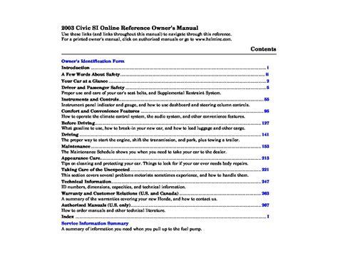 auto repair manual online 2003 honda civic si regenerative braking saturn 2006 vue owners manual pdf download go4carz com