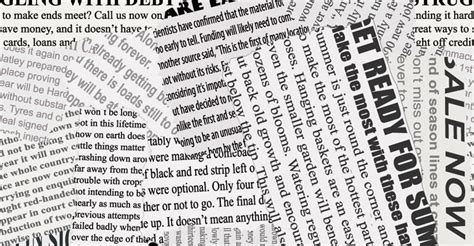 kranten layout word newspaper collage wallpaper wall decor