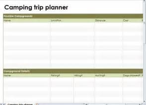 Trip Planner Cing Trip Planner Cing Road Trip Planner