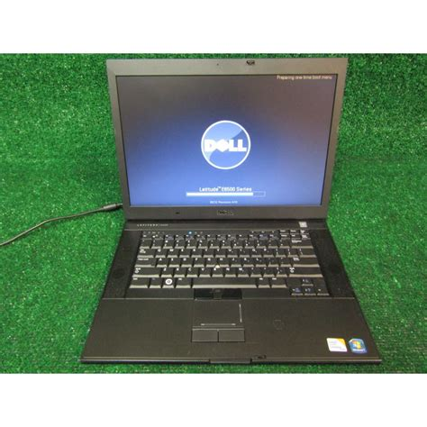 Laptop Dell Latitude 2 Duo dell latitude e6500 black 15 4 quot laptop 4gb ram intel 2 duo p8700 2 53ghz