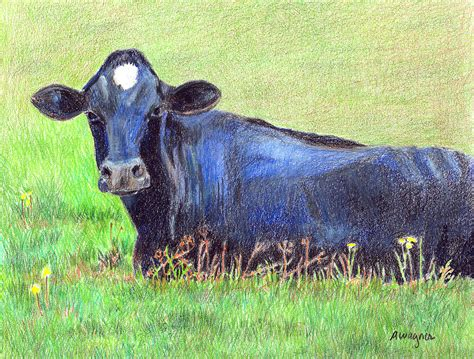 the blue cow how now blue cow by arline wagner