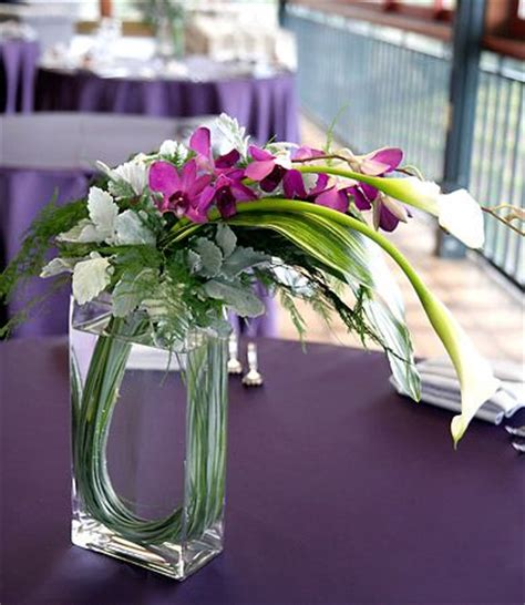 white black modern tabletop vase metal square flower plant modern asian table centerpieces and calla lilies on pinterest