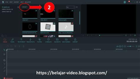 tutorial menggunakan filmora cara menghilangkan noise video dengan filmora belajar video