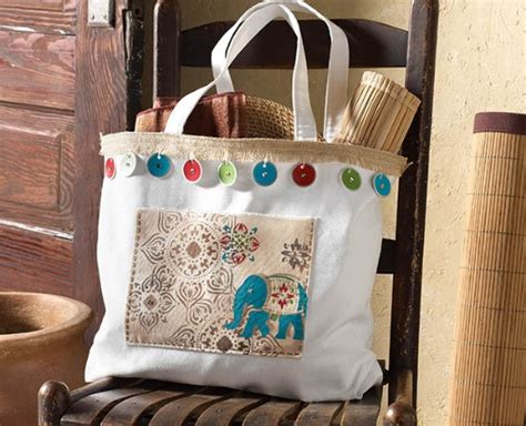 Handmade Bag Ideas - 3 global inspired diy ideas