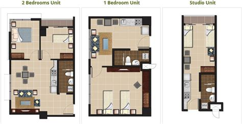 Home Floor Plans With Basement baguio new condos at megatower residences by megapines