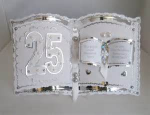 bookatrix 25th anniversary card
