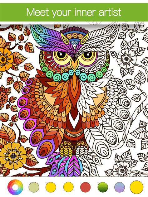 coloring books for adults free app coloring book premium android apps on play