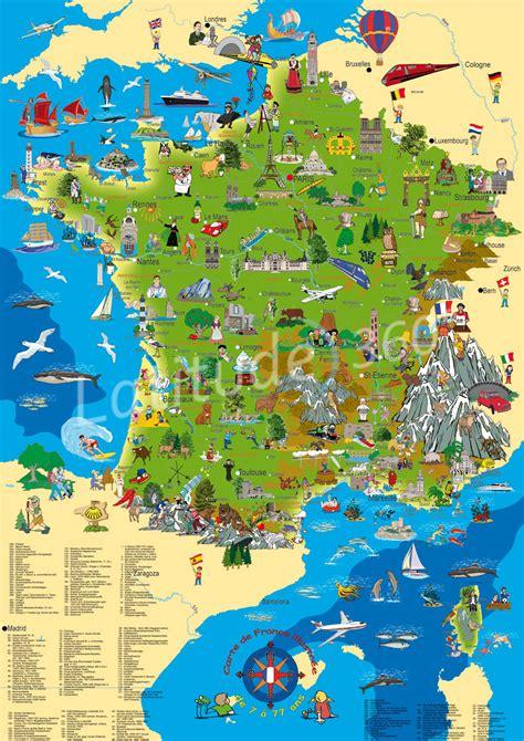 carte de touristique