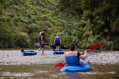 canoes nz punakaiki canoes river kayaking in paparoa national park