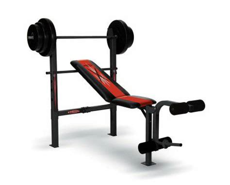 used weight bench set competitor weight bench espotted