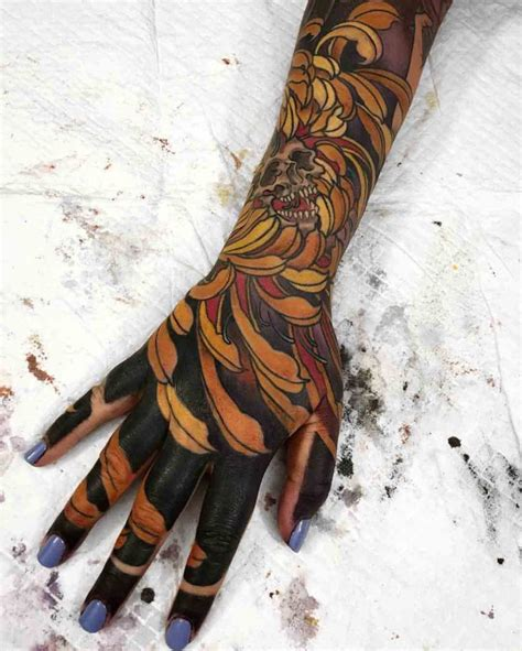 Japanese Tattoo Full Hand | full sleeve tattoo to hand best tattoo ideas gallery