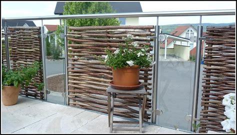 Sichtschutz Holz Terrasse by Sichtschutz Terrasse Holz Und Glas Page Beste