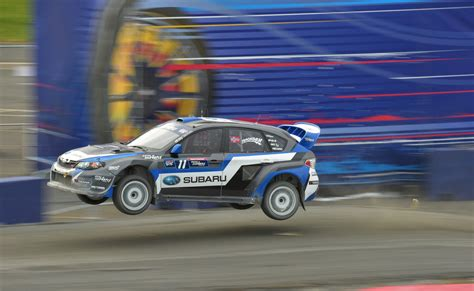 subaru racing subaru usa racing drivers lasek and isachsen on pace in