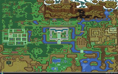 legend of zelda wall map the legend of zelda a link to the past wallpaper and