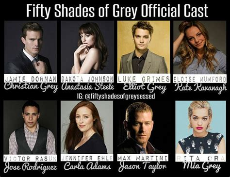 fifty shades of grey movie cast ana fifty shades of grey cast as december 3 2013 jamie