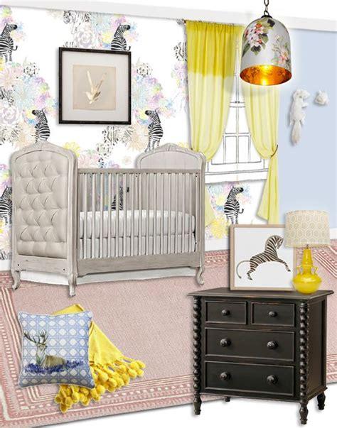 girly nursery wallpaper girly safari nursery zebra mini madness pinterest