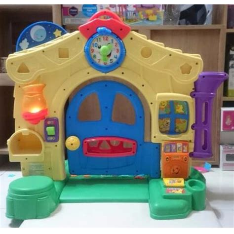 Mainan Bayi Laugh And Learn by Fisher Price Laugh Learn Learning Home Playset