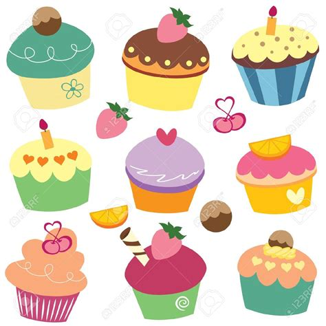 cupcake clipart cupcake clipart black and white clipart panda free