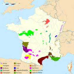 Wine Regions Of France Map by Map Of The Principal Wine Regions In France