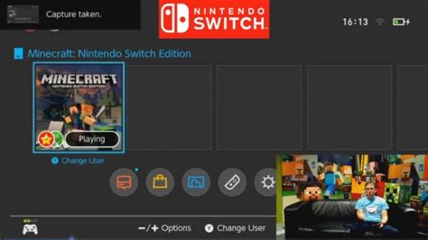 minecraft nintendo switch edition footage nintendo