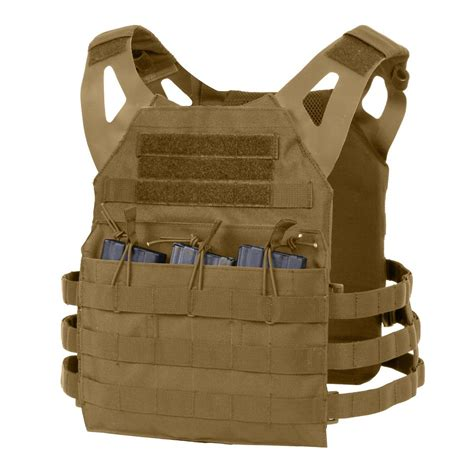 Plate Carrier rothco lightweight molle tactical armor plate carrier vest
