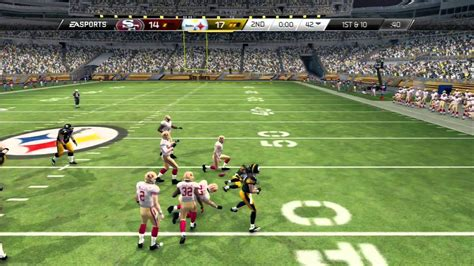 match incredible stats and 1509825002 madden 25 amazing game must watch quot madden nfl 25 quot steelers vs 49ers online gameplay ranked