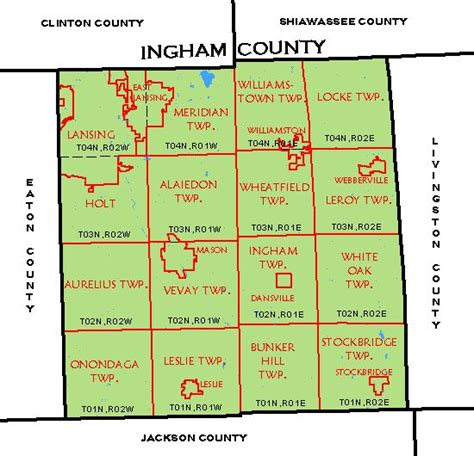 Ingham County Search Ingham County Map My